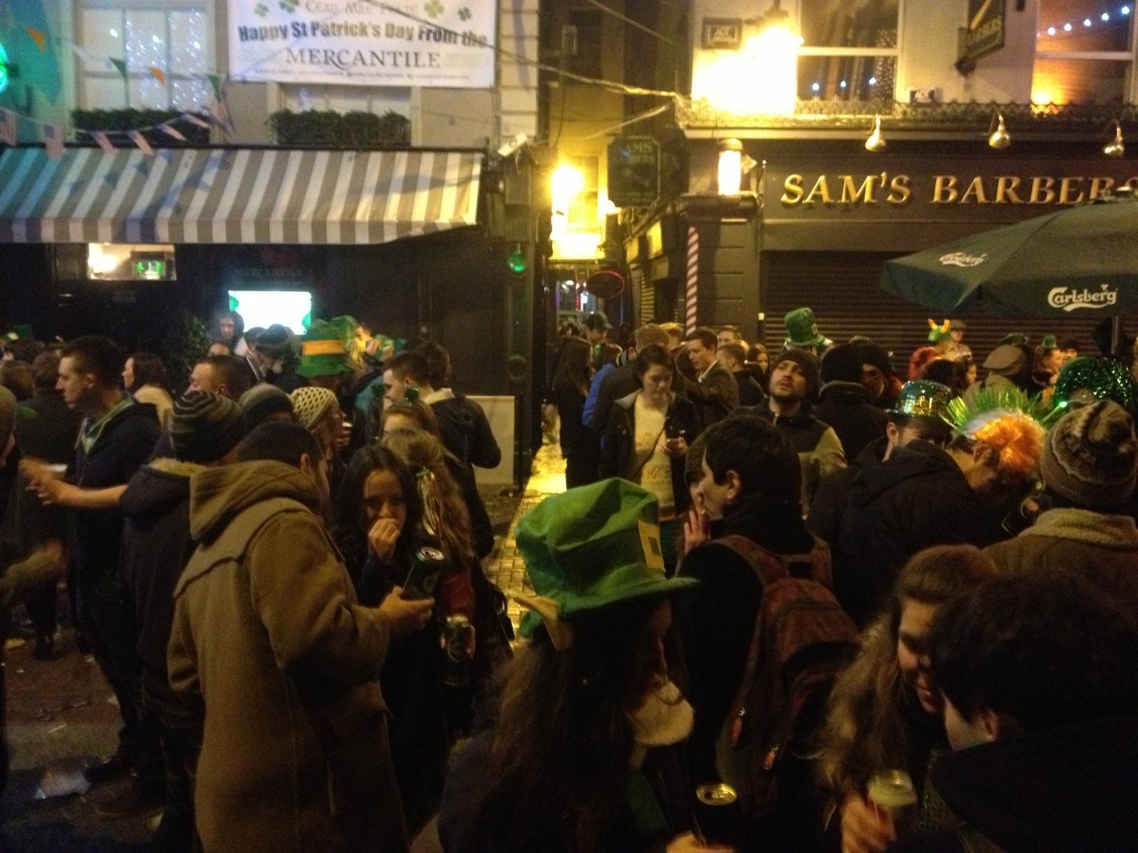Fête St Patrick Dublin