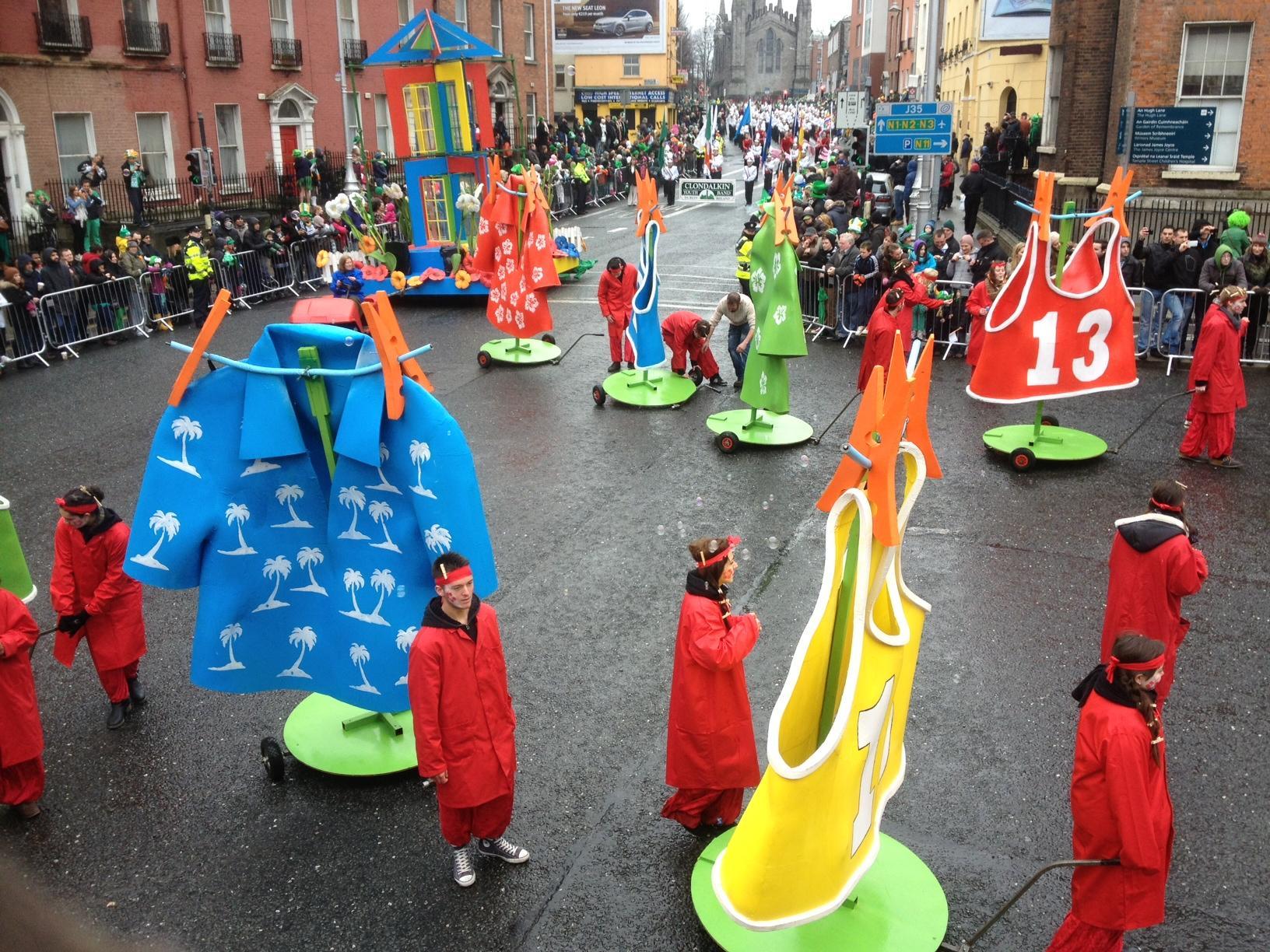 Parade de la St Patrick