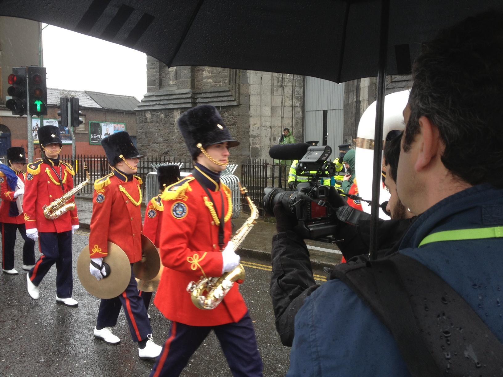 Coulisses parade St Patrick