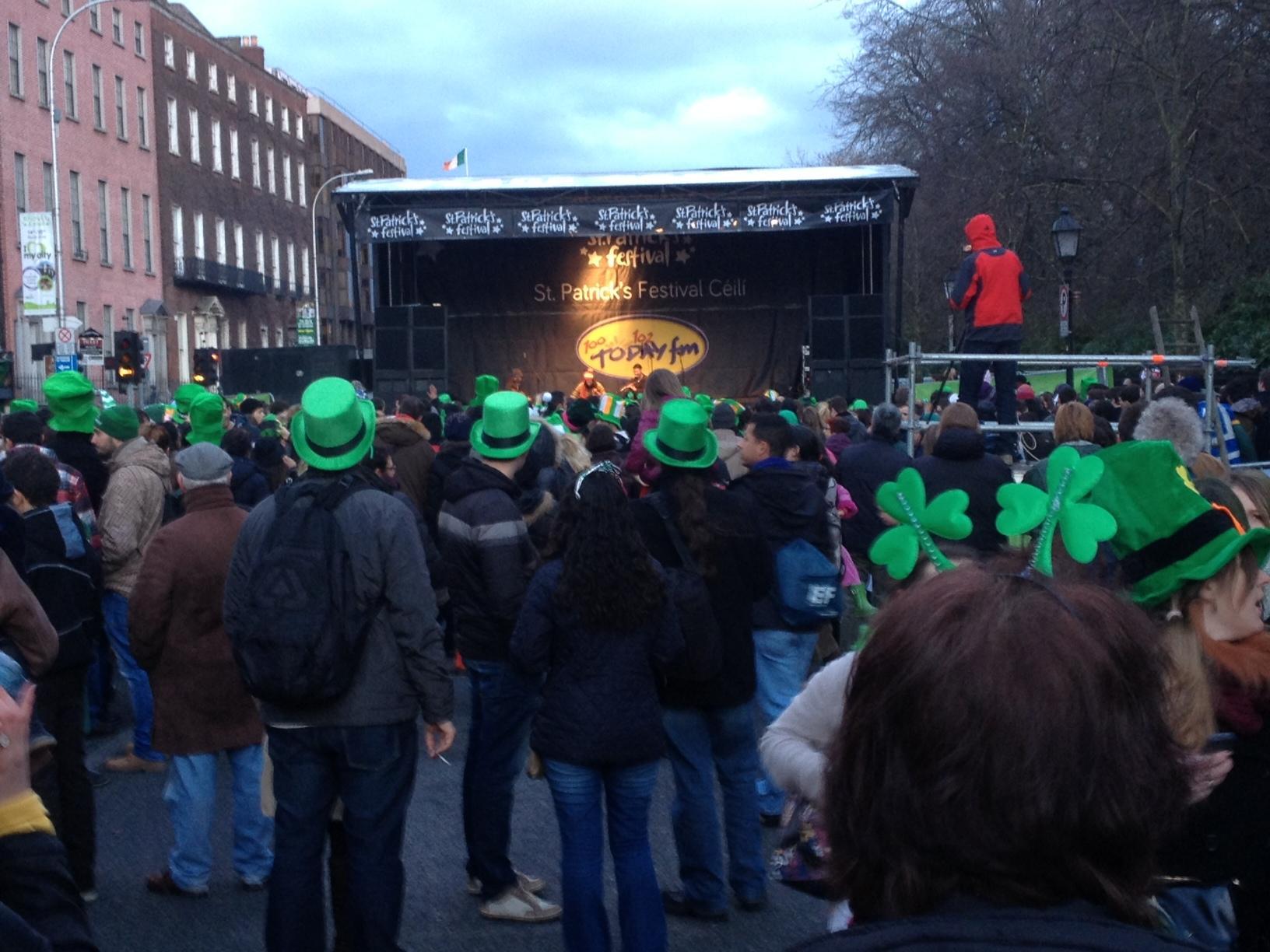 Danses traditionnelles Saint Patrick