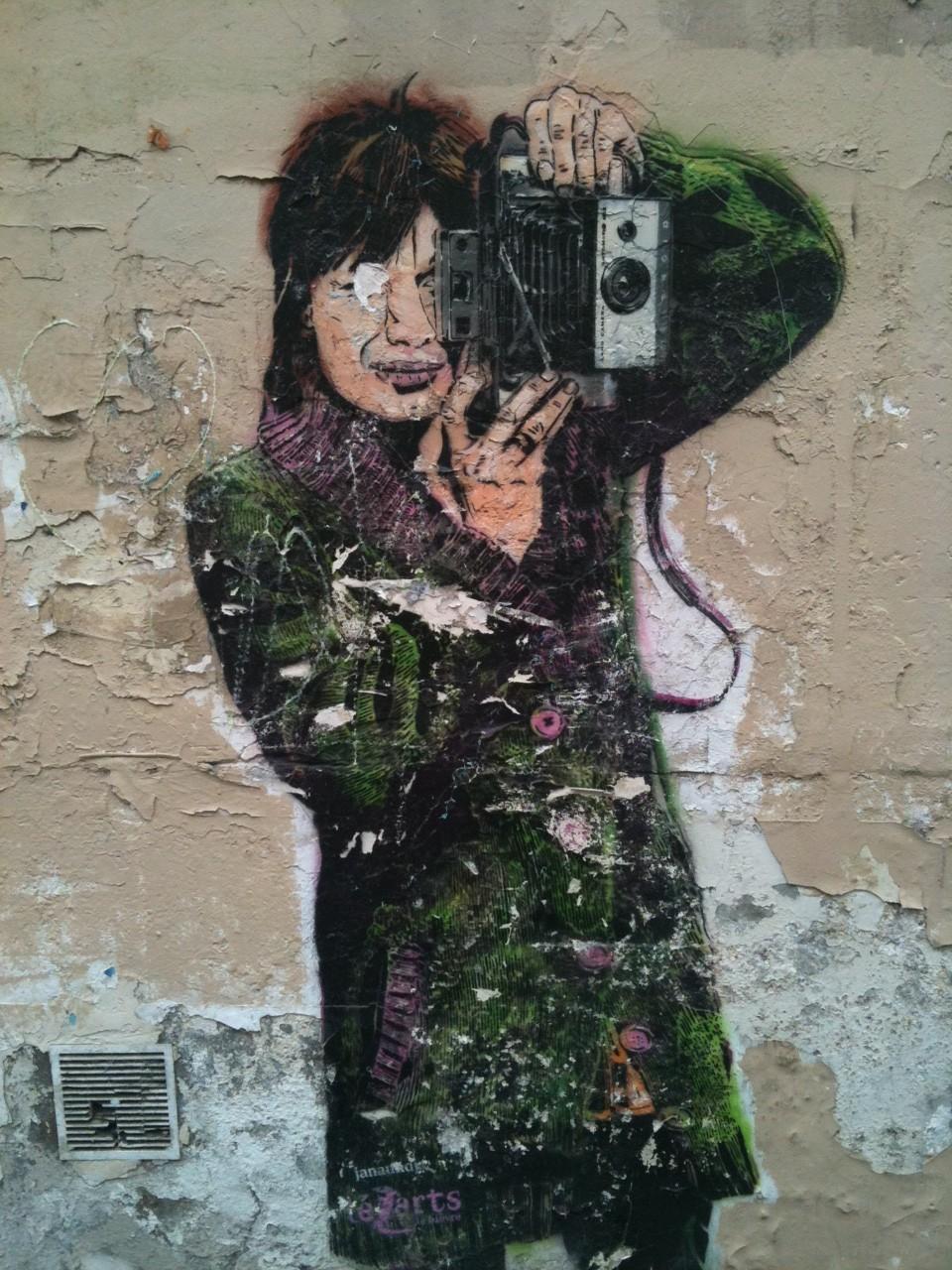 art de la rue Paris