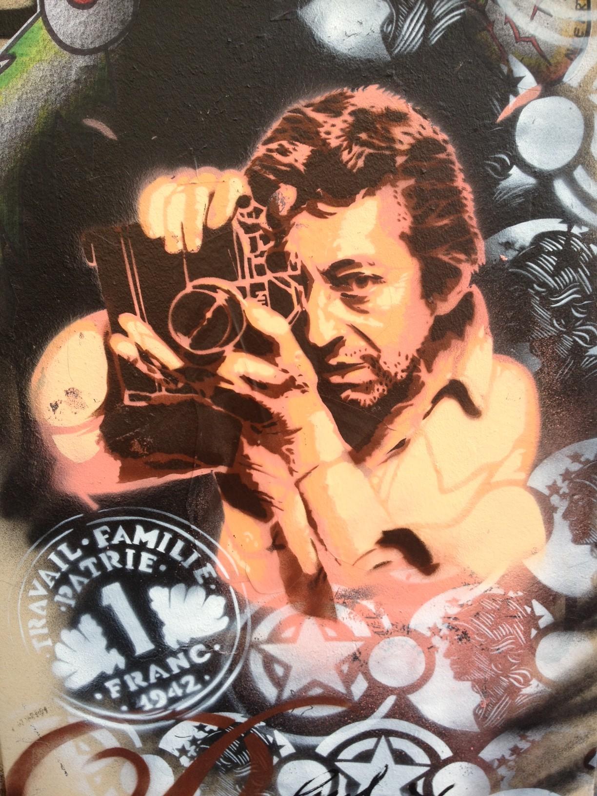 Gainsbourg street art