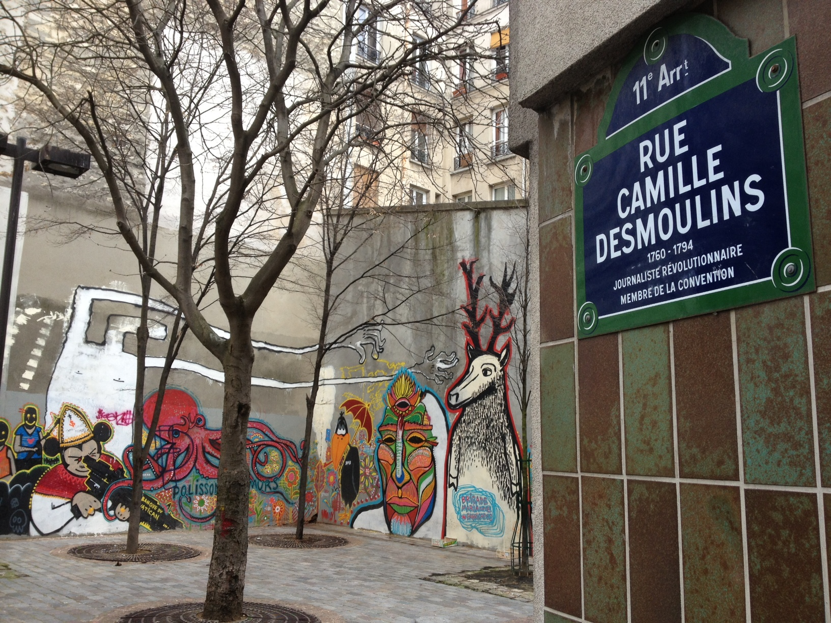 Street art 11ème