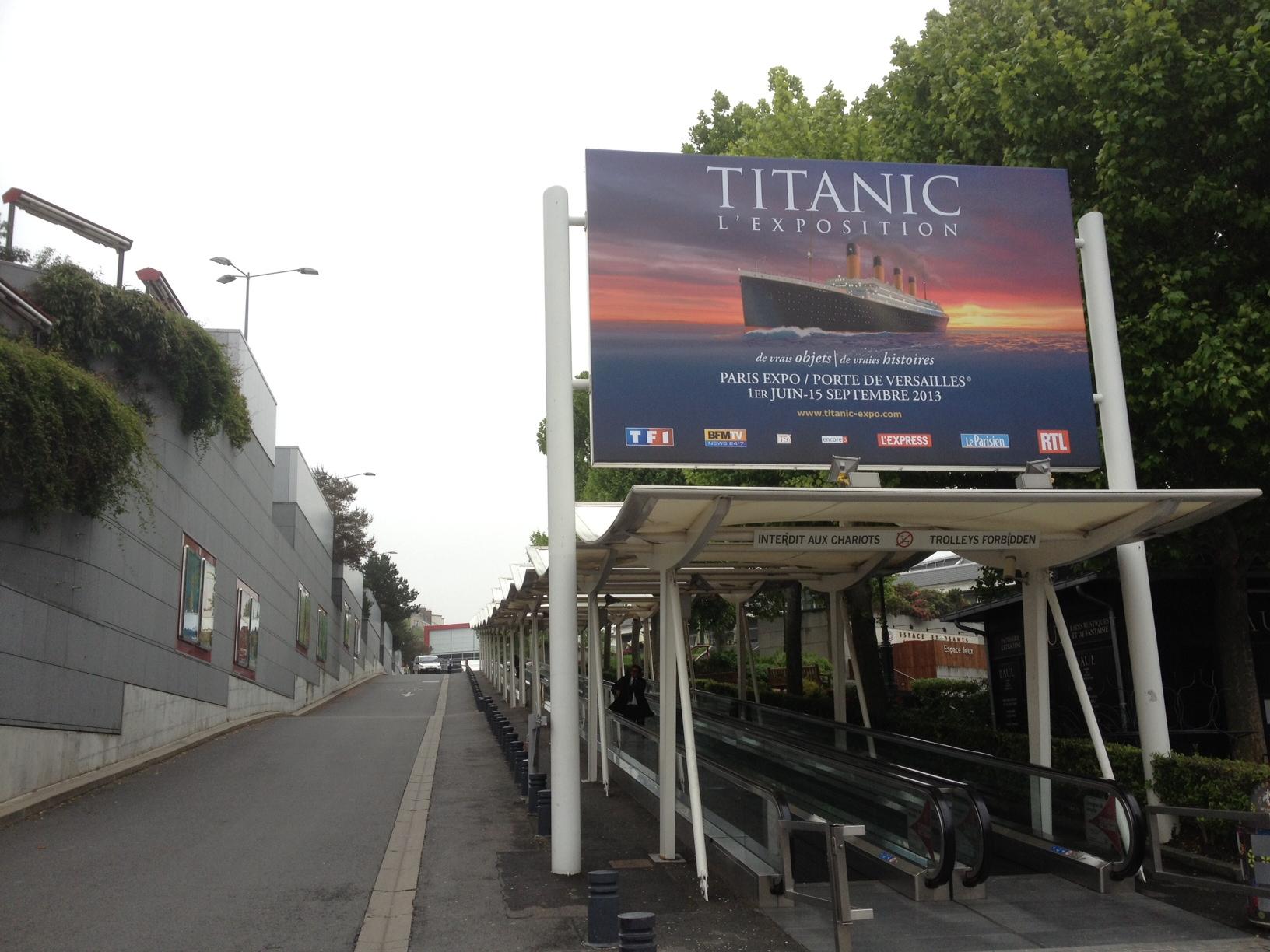 Le choc du titan solcito blog de voyage site d 39 vasion - Adresse paris expo porte de versailles ...