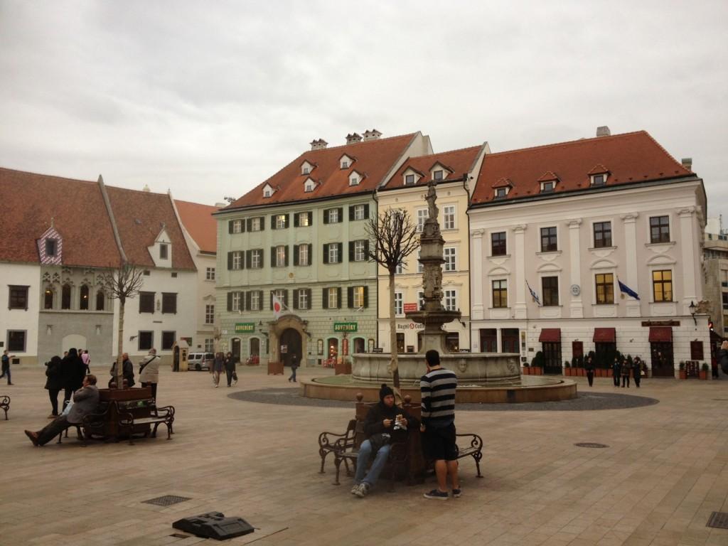 Centre ville Bratislava