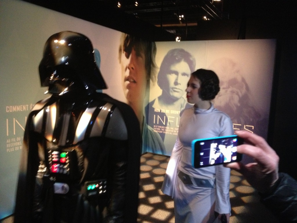 Dark Vador Leia