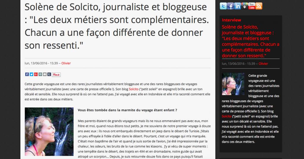 Interview Solcito Bestglobe