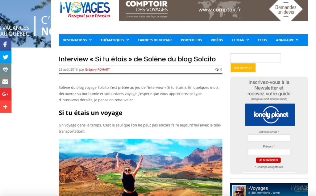 Solcito I-voyages