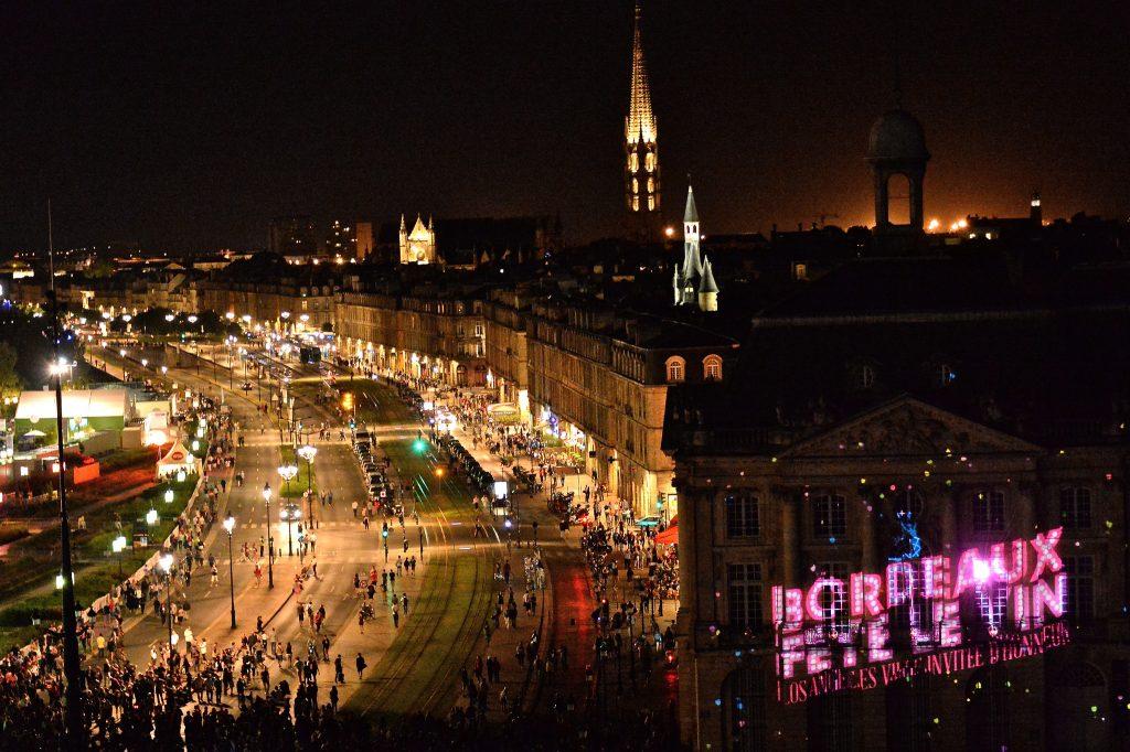 spectacle multimédia Bordeaux fête son vin