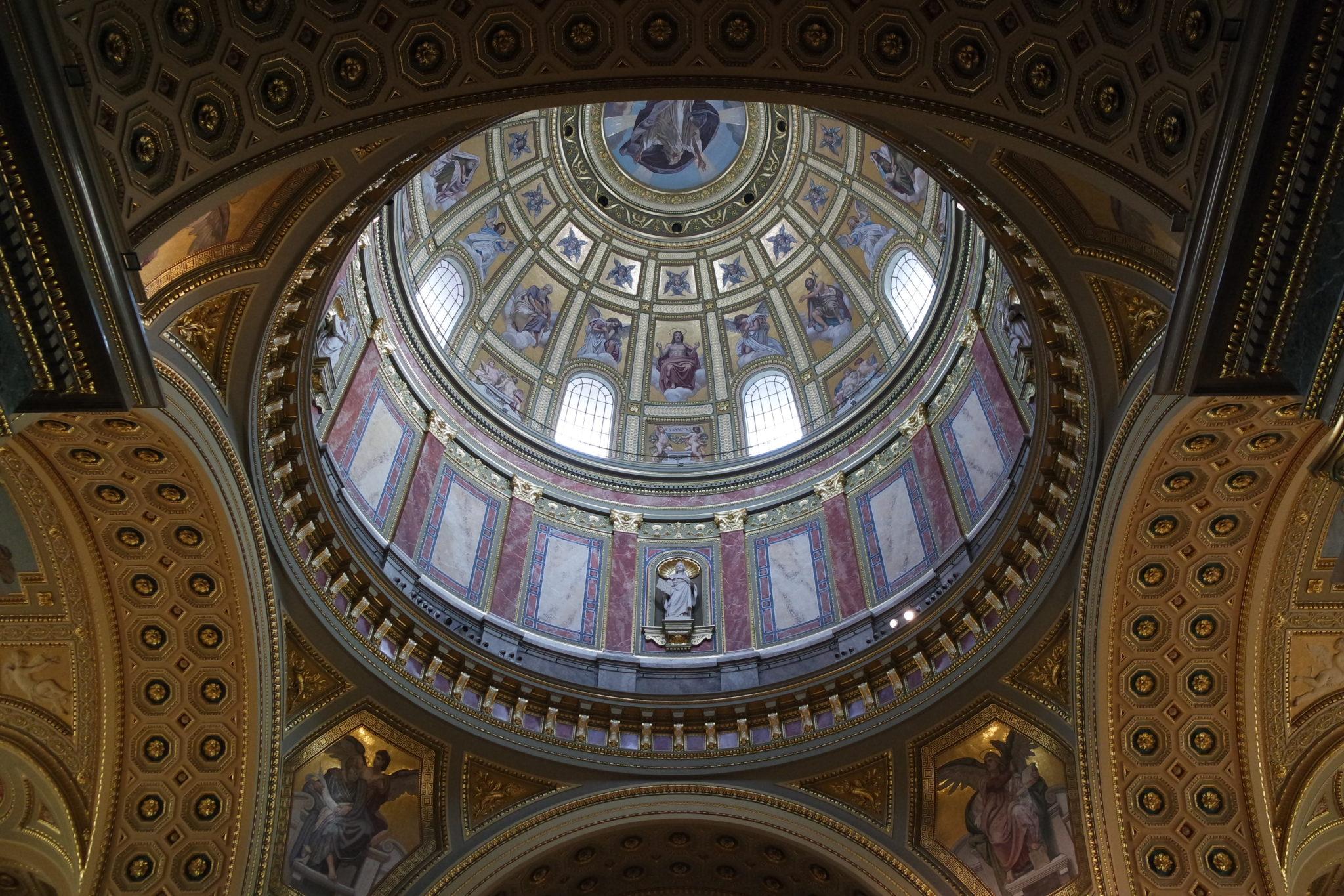 Budapest en hiver Basilique Saint Etienne