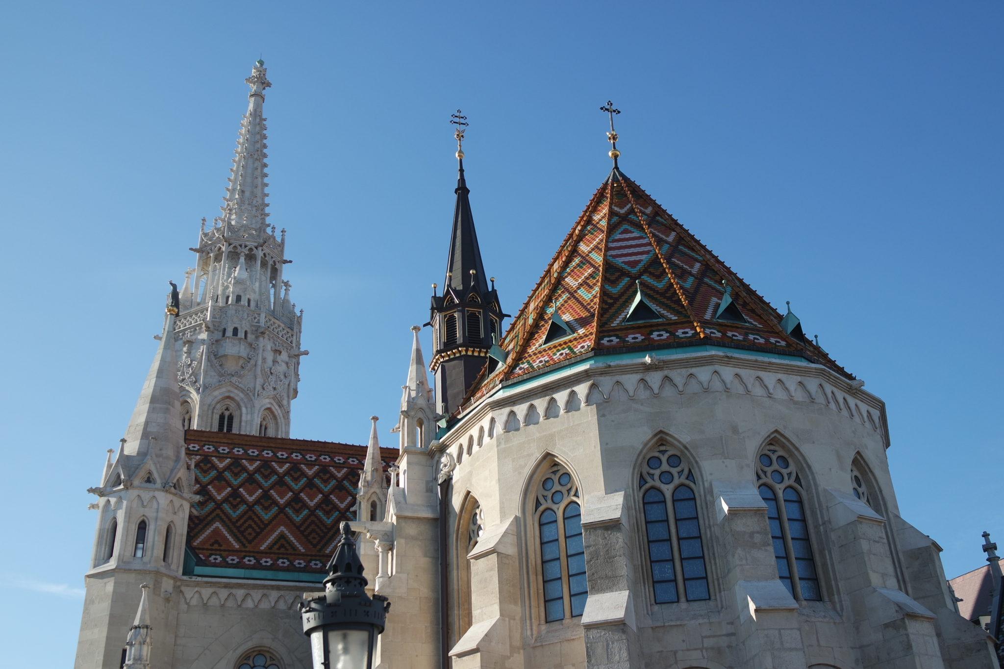 Budapest en hiver église