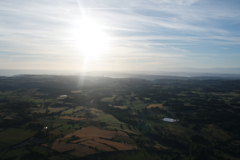 Balade montgolfière Annonay