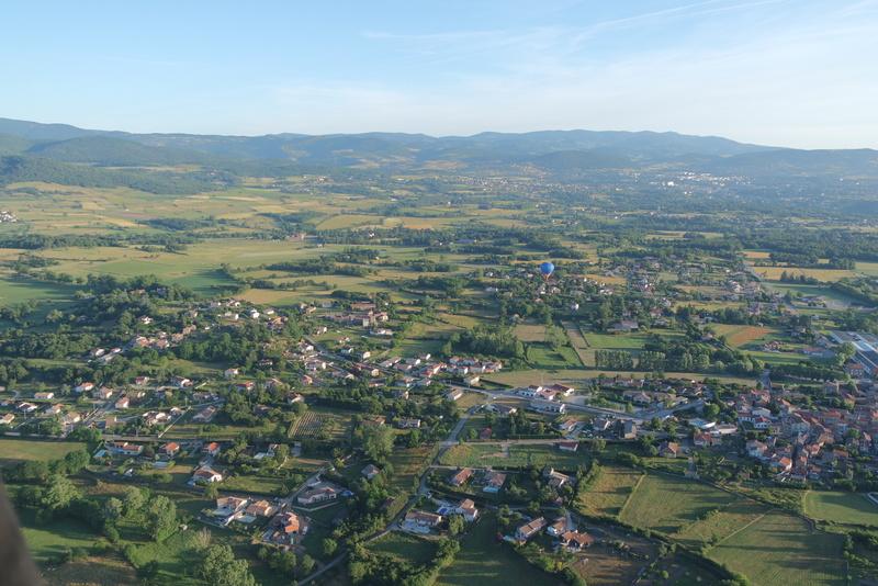 Balade montgolfière Ardèche