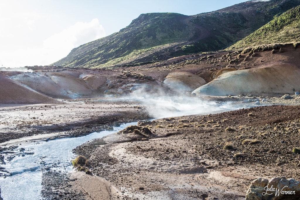 zone géothermique Krýsuvík