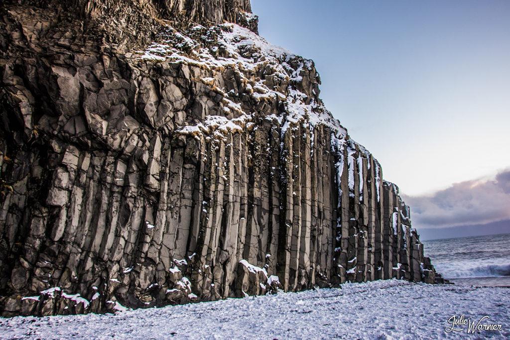 Vik et ses colonnes de basalte
